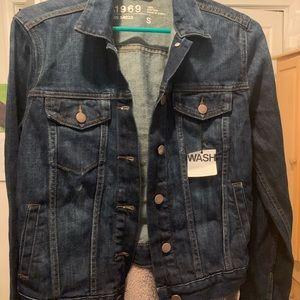 NWT dark wash denim jacket